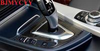 BJMYCYY Car styling Automobile carbon fiber baffle panel frame For BMW F30 F34 F31 F32 320i 316i 328i 420i 2012 2016 LHD
