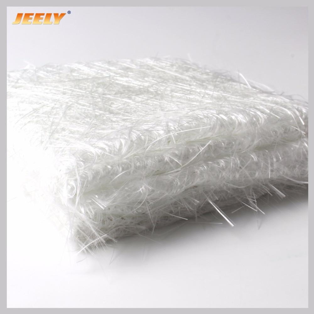 Jeely 30gsm Glas Faser Tuch alkali-freies Fiberglas gehackte strang matte 100 cm breite