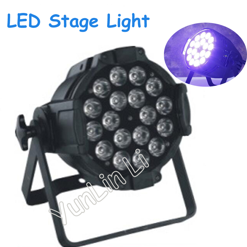 LED Stage Light 18 Beads 18W Six-in-One LED Bar Light Stage Lighting Effect Full Color Stage Lights RG - 412