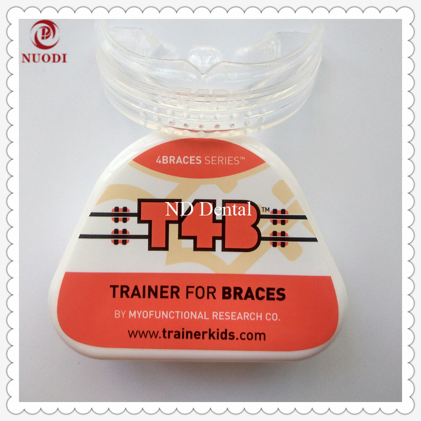 T4B Trainer for Brace/MRC Orthodontic teeth appliance for orthodontic cases/T4B Dental teeth trainer work with brackets dental orthodontic brace work with bracket b1 teeth trainer appliance correct myofunctional habits home use orthodontic brace