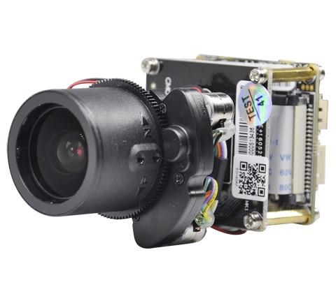 Full HD 2560*1440 4MP caméra IP en temps réel module PTZ 4X zoom objectif motorisé avec RS485 wifi étendu + fil de queue réseau + IRcut - 3