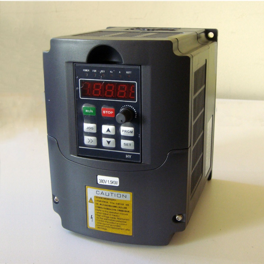 цена на VFD Spindle inverter 220V 1.5kw Frequency Drive Inverter Machine Inverter warranty :1 year