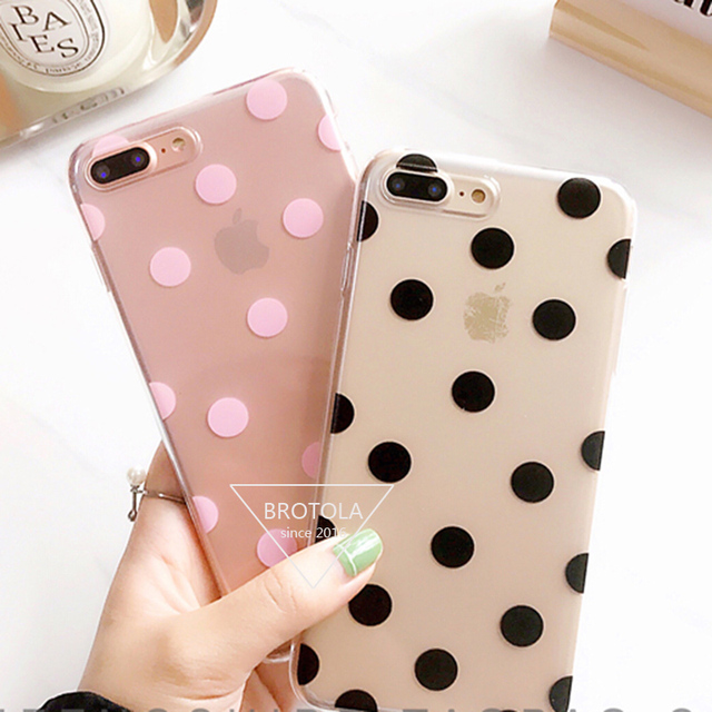 iphone 7 case polka dot