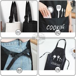 Image 3 - กันน้ำผ้ากันเปื้อนทำอาหาร Chef Aprons สำหรับผู้หญิงผู้ชายผ้ากันเปื้อนครัว Idea สำหรับน้ำยาล้างจานภาพวาด