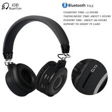 Huanyun Bluetooth наушников Беспроводной стерео Bass Music Спорт гарнитура с микрофоном слот для карты для iPhone Xiaomi