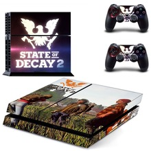 State of Decay 2 PS4 Skin Sticker for Sony PS4 PlayStation 4 and 2 controller skins