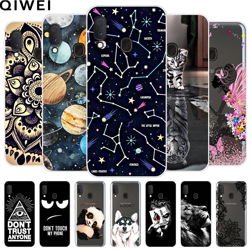For Samsung A20e Case 5.8'' Cute Painted Soft TPU Phone Cases For Samsung Galaxy A20e A 20e A20 E Silicon Back Cover Coque Capa