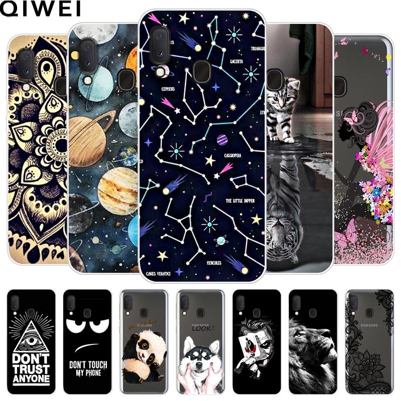 For Samsung 5.8 Case '' Painted Cute of A20e Soft TPU Phone Cases For Samsung Galaxy A20e ONE 20e A20 E silicone Back Cover Coque Capa