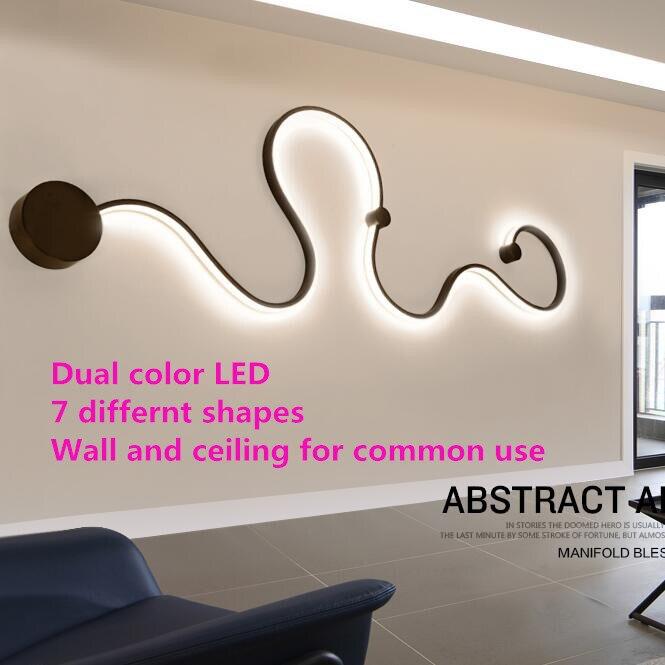 Us 4712 35 Offnowoczesne Lampy Sufitowe Led Projekty Artystyczne Kreatywne Oświetlenie Sufitowe Lampa Do Sypialni Salon Przejściach I Korytarzach
