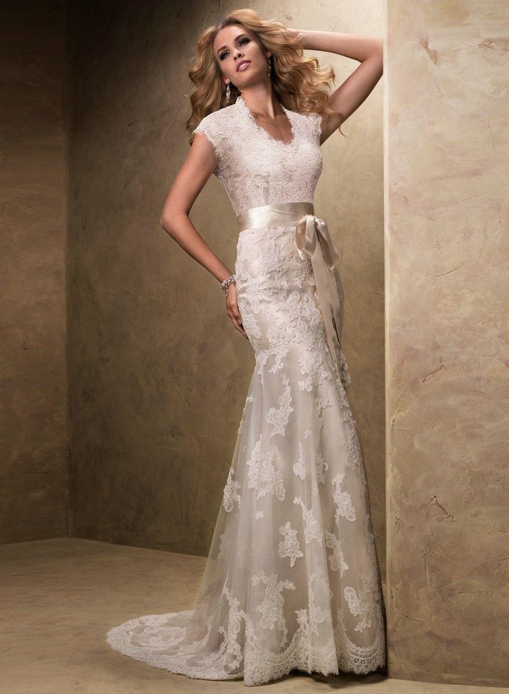 romantic wedding dress with sleeveless vintage v neck vestidos de