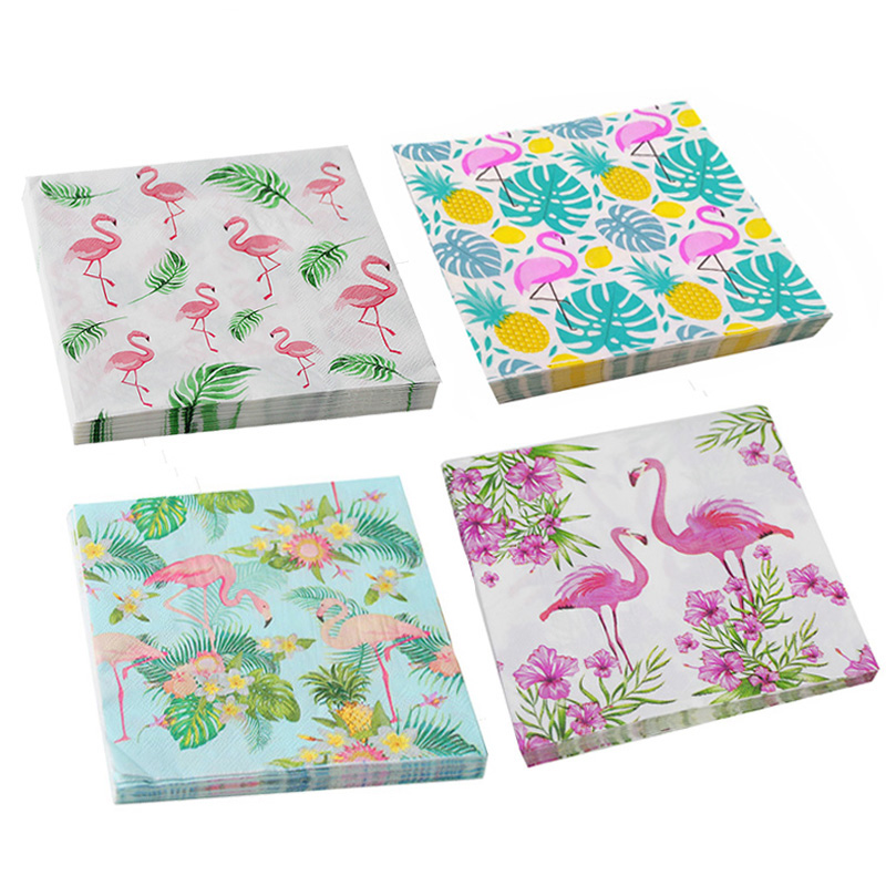 Flamingo Napkin Paper Flamingo Theme Party Decoration Wedding Hawaiian Summer Pool Beach Party Kids Birthday Party Supplies-in Party DIY Decorations from Home & Garden on Aliexpress.com | Alibaba Group