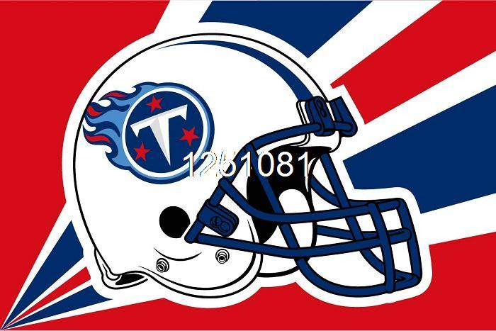 Tennessee Titans Helmet Lighting Flag 3ft X 5ft Polyester