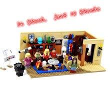 16024 534 шт. серия идей большой Банг набор образовательных строительных блоков Кирпичи совместимые детские подарки игрушки LegoINGlys 21302