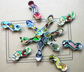 Venta al por mayor 1000 unids/lote diapasón de aleación de juguetes de skate dedo de mini juegos herramientas profesionales moda de graffiti