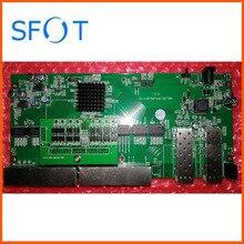 Задний переключатель POE доска, 2 Порты для программирования в производственных условиях + 8 Порты GE Rj45 операционный PD коммутатор, без каких-либо веб-управление. С vlan