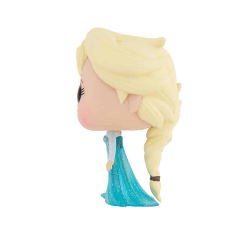 Funko POP Kawaii замороженная Снежная королева принцесса кукла Анна Эльза Коллекция ПВХ фигурка игрушки для детей подарок на день рождения