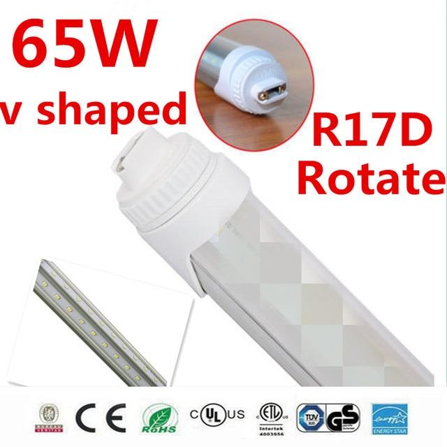 20 stücke drehen R17D führte schlauch t8 2400mm 65 watt 7000lm led ...