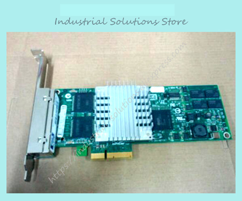 industrial motherboard NC364T 435508-B21 436431-001 PCI-E 4 1000M card 100% TESTED OK ipc aimb 763vg industrial motherboard dual core version aimb 763g2 100% tested ok