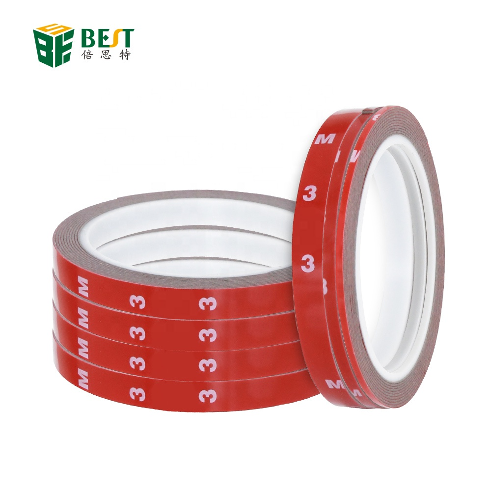 Double Sided Adhesive Tape Heat Resistant High Adhesion Transparent Acrylic Tape Touch LCD Screen Repair Sticker For Cell Phone