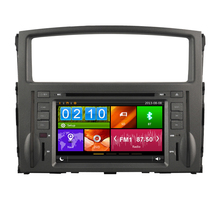 7″ MITSUBISHI PAJERO V97 V93 2006 2007 2008 2009 2010 2011 car dvd player with GPS steering wheel bluetooth support rear camera