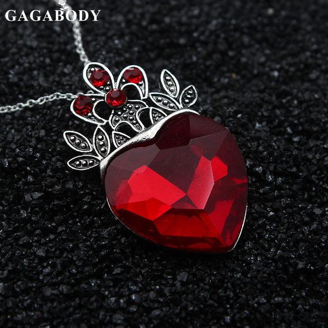 Tienda Online Día de San Valentín Evie collar descendientes corazón ...