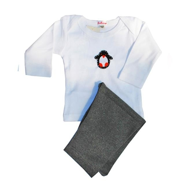 Loralin Design UOP6 Penguin Outfit 6-12 Months