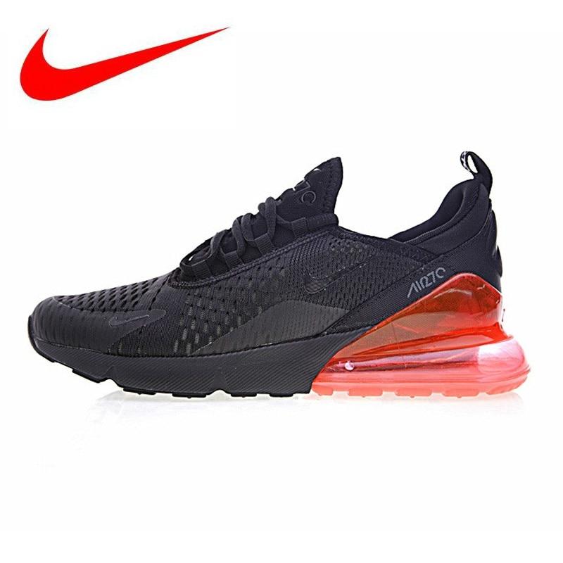 premium selection 7072d 4ba84 Original Nouvelle Arrivée Authentique Nike Air Max 270 Hommes Chaussures de  Course Sneakers Sport En Plein Air Confortable Respirant Bonne Qualité dans  ...