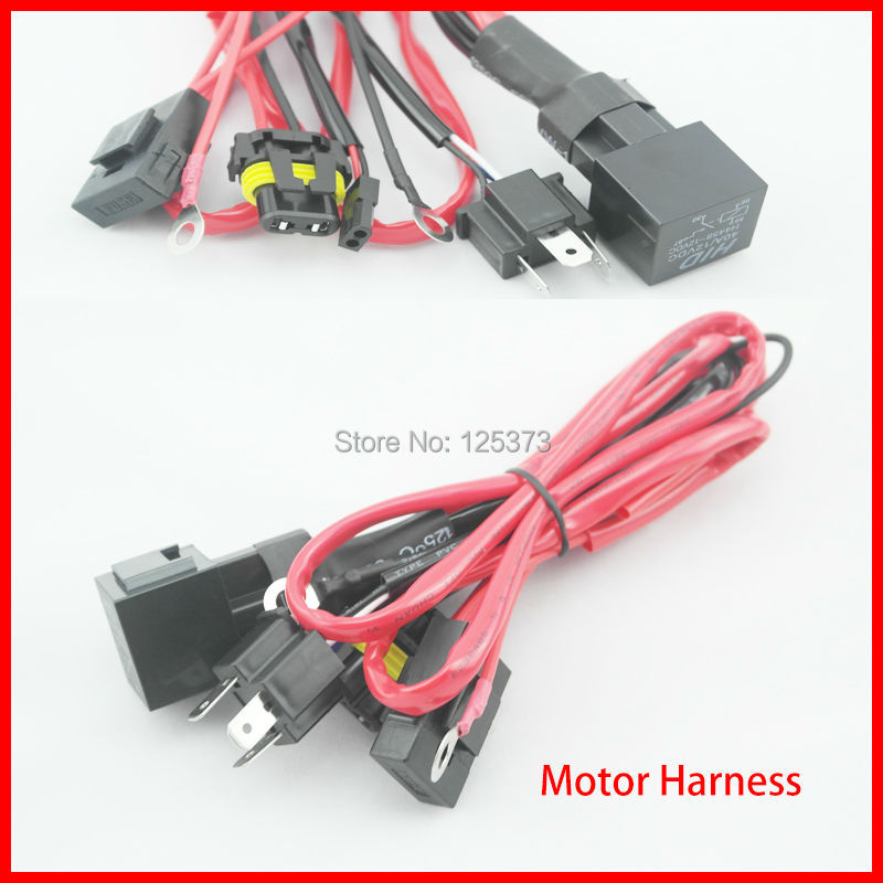 Free Shipping Xenon Hid Conversion Relay Wiring Harness
