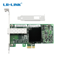 LR LINK 6220PF SFP PCI Express 1000Mb Fiber Optic Lan Network Card Gigabit Ethernet Server Adapter Intel 82575 Desktop PC NIC