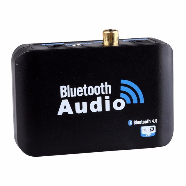 2016 Bluetooth Music Receiver Wireless Audio Digital Adapter Support  Digital Optical Coaxial Analog3 5mm Output with Audio cable-in Wireless  Adapter