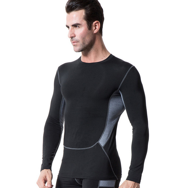 convenience goods popular design outlet online US $11.09 26% OFF|Aliexpress.com : Buy Compression Shirt Bodybuilding T  shirts Men Gyms workout Long Sleeve top tees Fitness Clothing joggers  Exercise ...