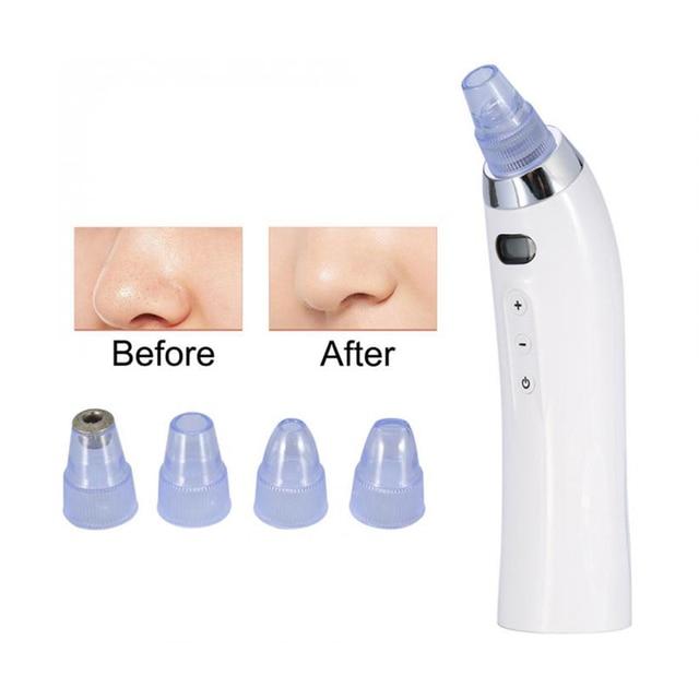 Cuidado de la piel poro de Blackhead removedor de acné grano eliminación de succión al vacío de cara de la herramienta limpio Facial de Derma brasion máquina