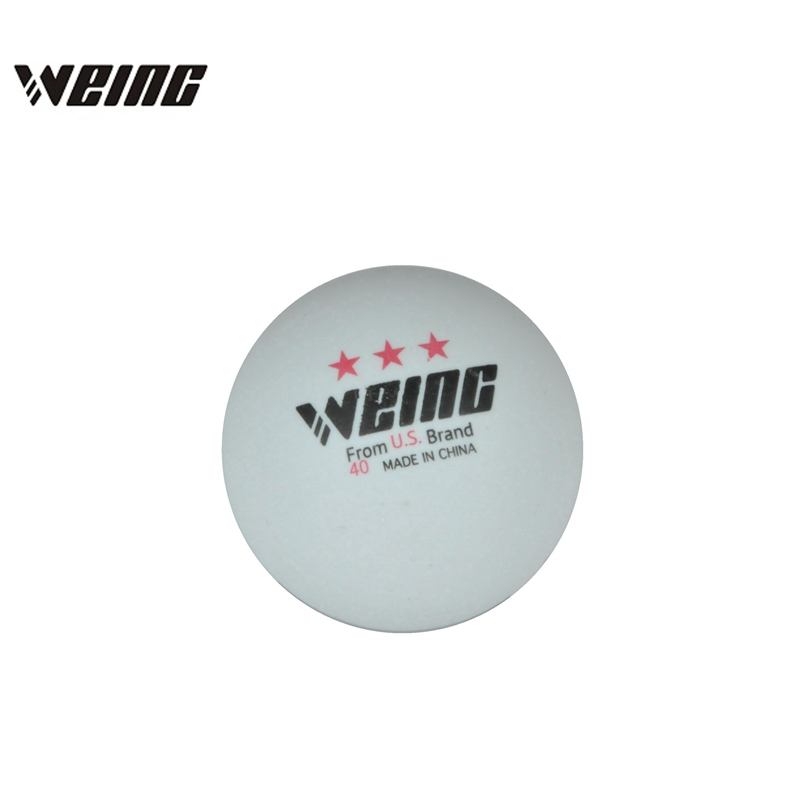 WEING 3 Star 40mm  36g White Yellow Table Tennis Training Balls For PingPong
