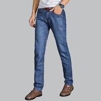Retail Wholesale Designer Cotton Jeans Men 2017 New Arrival Good Quality Hot Sale Straight Fashion Denim