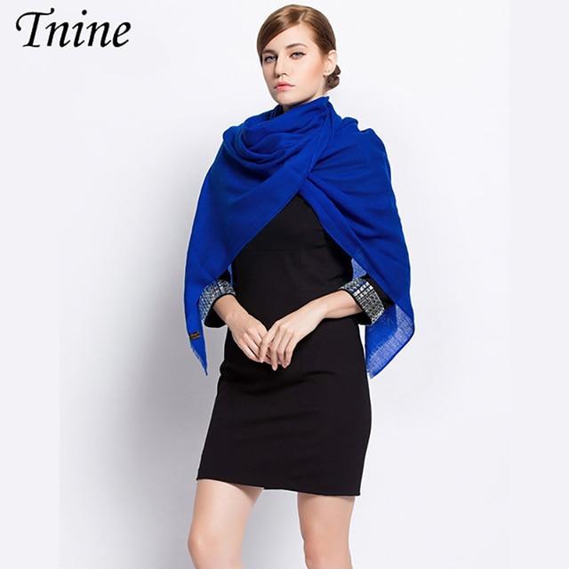 Echarpe Luxury Brand Scarf 2017 Ladies Scarves Winter Scarf 100% Cashmere  Scarf Wool Shawls Pashmina df8066e5cd2
