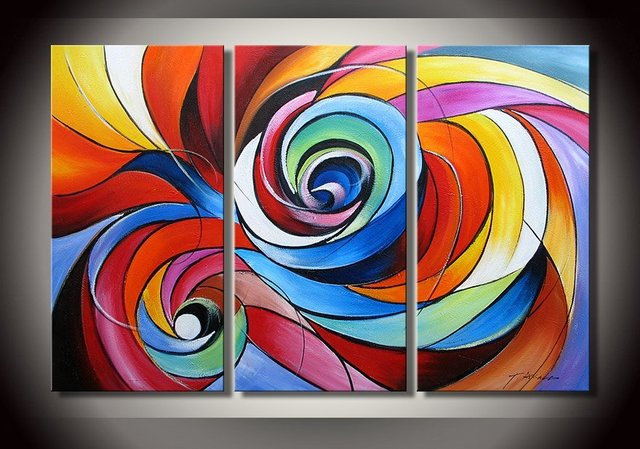 modern abstract canvas art oil painting 3 guaranteed 100 free