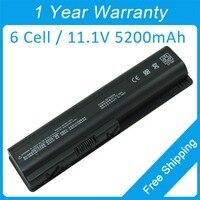 5200mah laptop battery HSTNN C51C HSTNN C52C HSTNN C53C for hp Compaq Presario CQ45 CQ50 CQ60 CQ70 CQ71 DV4 DV5 DV6 G50 G60