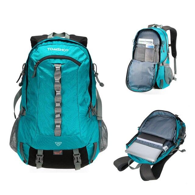 2b492678bc9 Tomshoo outdoor sport rugzak wandelen trekking tas camping reizen  verpakking bergbeklimmen klimmen knapzak met regen jpg