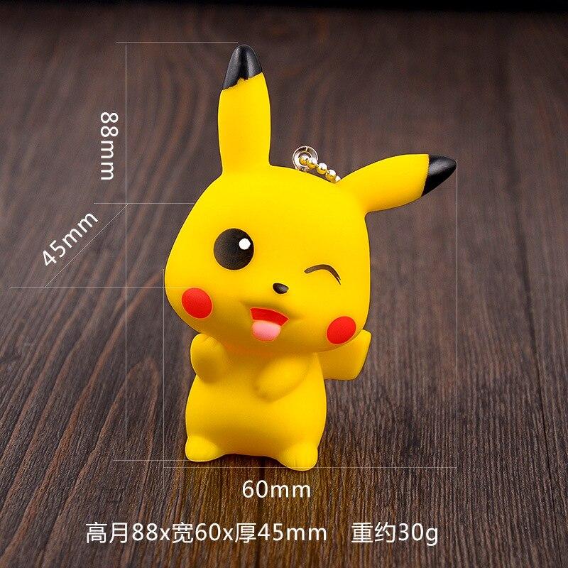 STK Car Accessories Sell Pikachu Pokemon KeyChain