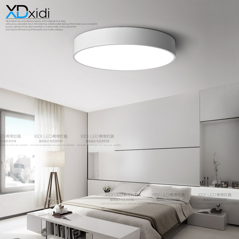 Minimalism modern  round wrought iron lamp large living room lamp bedroom lamp Ceiling Lights baking finishLuxury factory out modern led ceiling lights minimalism geometric iron luminaire ceiling lamp bedroom living room foyer dining room