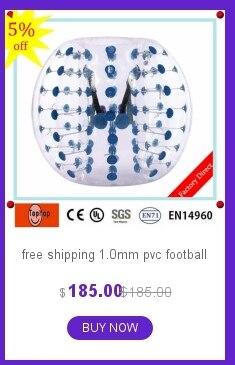 1,2 м/1,5 м/1,8 м бампер мяч, тело мяч, спортивный мяч, /розничная, новые Футбол воздушный шарик бампера