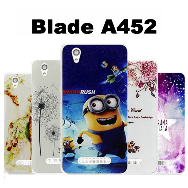 best authentic 2bc57 60309 US $1.99 |ZTE blade a452 case cover TPU New wave case for ZTE a452 case  cover Cartoon tpu ZTE blade a 452 case cover-in Half-wrapped Case from ...
