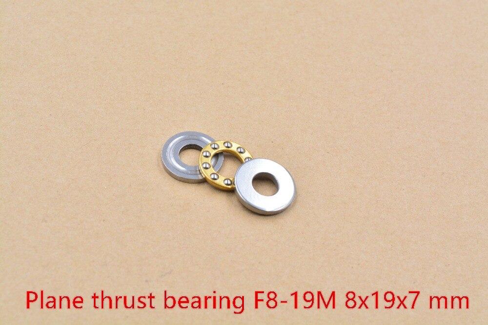 10pcs//lot F3-8M Axial Ball Thrust Bearing 3mm x 8mm x 3.5mm