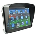 7 inch HD Touch Car GPS Navigation Sat Nav FM 8GB Bluetooth AV-IN Free Sunshade Bundle Latest maps
