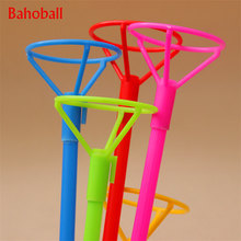 5Sets/lot 40CM Foil Balloon Accessories Balloon Holder Sticks with Cups Party Supplies Decoration PVC Rods Balloon Sticks Holder(China)