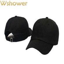 Que no chuveiro baratos casual snapback cap simples mulheres homens quadril  Hop Chapéu De Basebol Em Branco Cor Sólida Pai Chapé. 02c63c85429