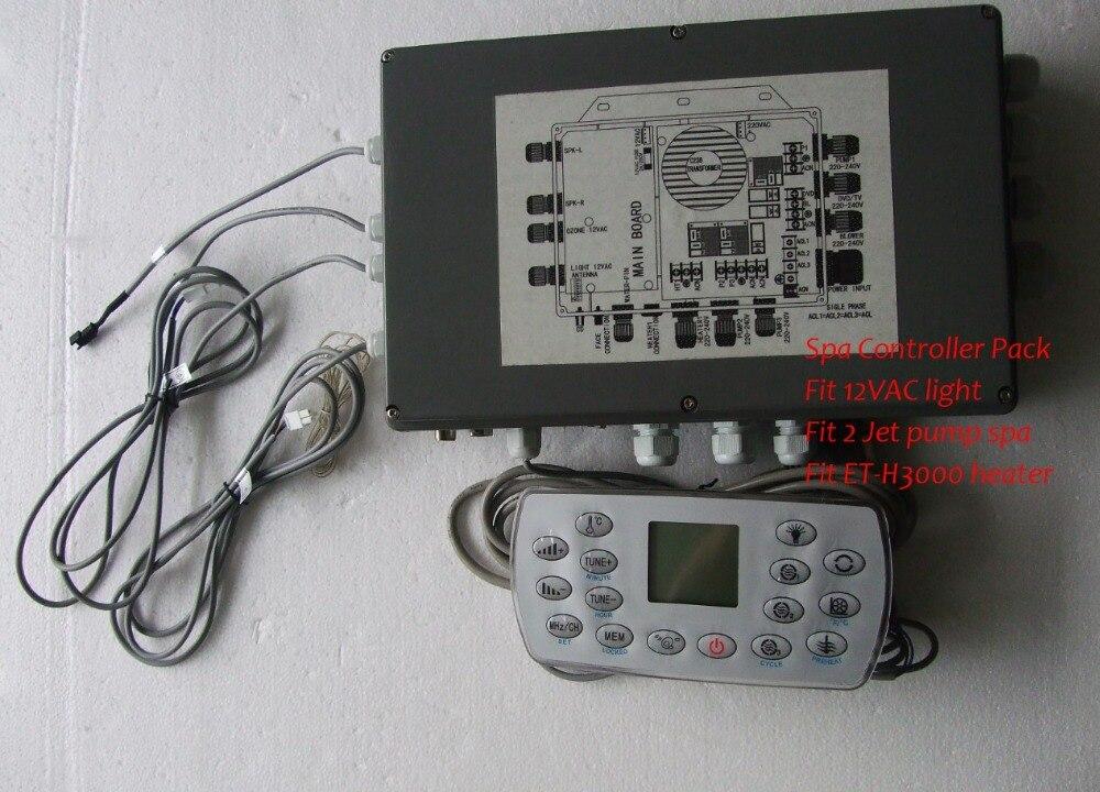 hot tub controller pack kl8 3h fit ethink et h3000 12vac. Black Bedroom Furniture Sets. Home Design Ideas