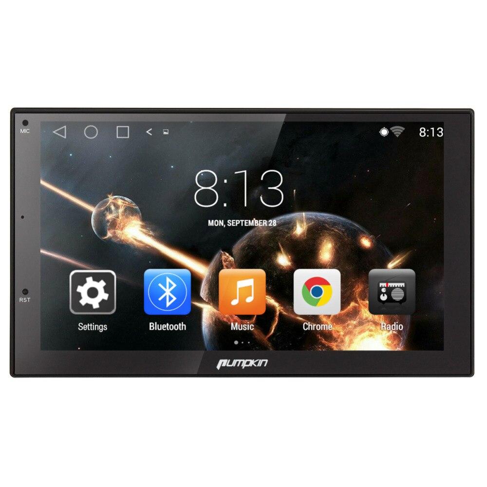 Pumpkin Quad Core font b Android b font 5 1 2 Din 7 inch Car GPS