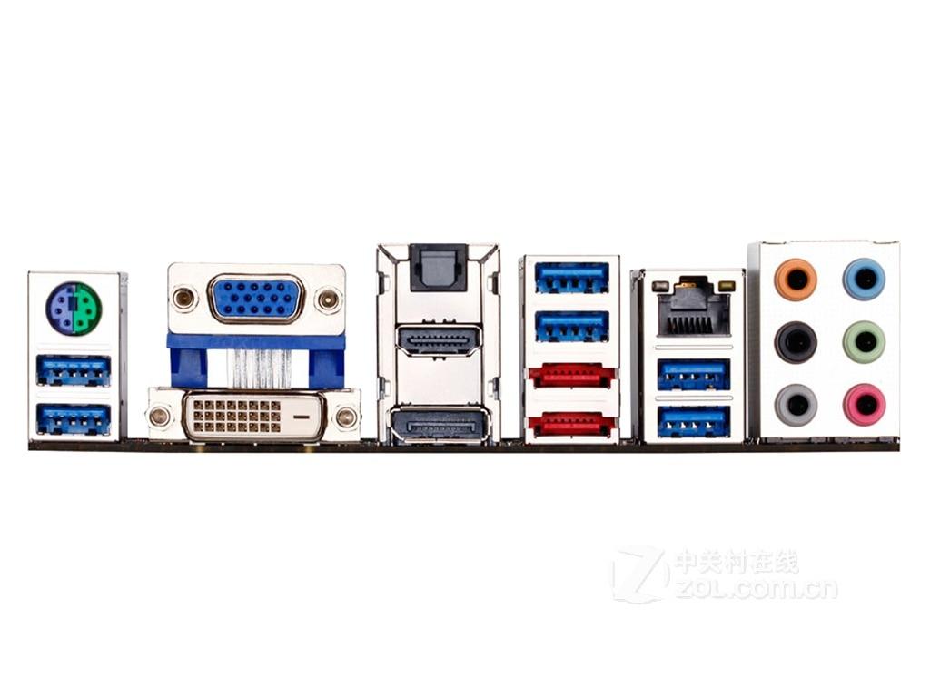 1PC Used Gigabyte mainboard GA-Z77X-UD3H #W6321 WX