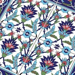 Image 5 - Hot marroquí Lack mesa escritorio Tops tela calcomanías de pared extraíble autoadhesivo impermeable mueble o pared pegatina 55X55Cm